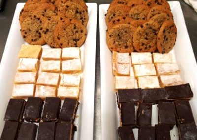cookies lemonbars chocolate cake