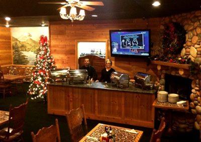 holiday banquet room